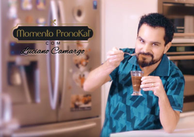 Pavê de Chocolate com Biscoito de Laranja PronoKal