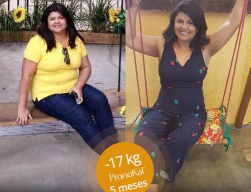 #MeuSucessoPronoKal: A Tania eliminou 17kg com nosso Método!