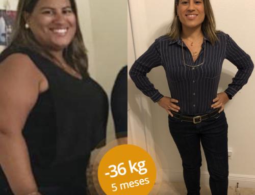#MeuSucessoPronoKal: A Michelle emagreceu 36kg com o Método!