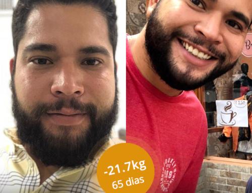#MeuSucessoPronokal: Perder 21.7 KG em 65 dias é possível! Olha o resultado do Andre!