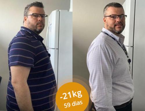 #MeuSucessoPronokal: O Franz perdeu 21 KG em apenas 59 dias!