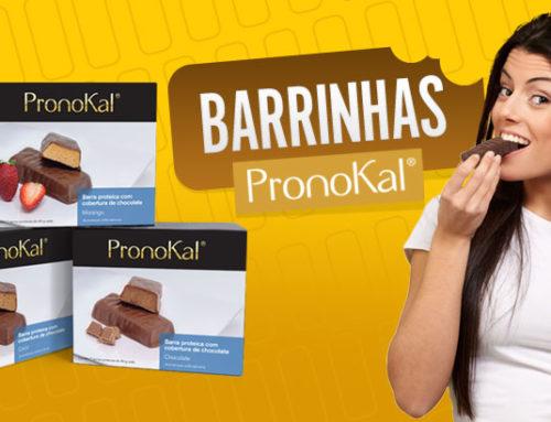 Chegaram as Barrinhas Pronokal!