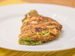 Receita Omelete Verde Low Carb PronoKal
