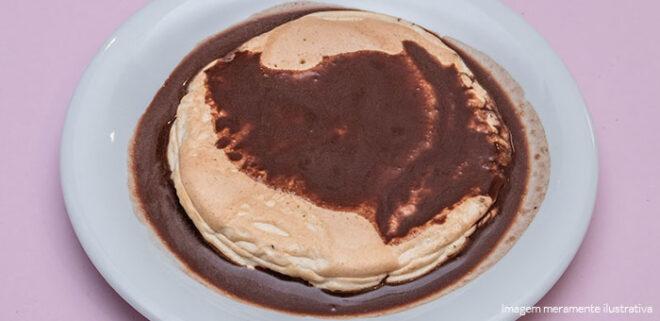 Receita Panqueca de Chocolate PronoKal Dieta Cetogênica