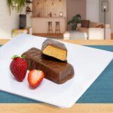 Barrinha Proteica de Chocolate sabor Morango PronoKal