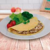 Omelete de Queijo PronoKal - Dieta Cetogênica