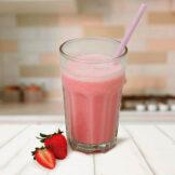 Bebida de Morango PronoKal - Dieta Cetogênica